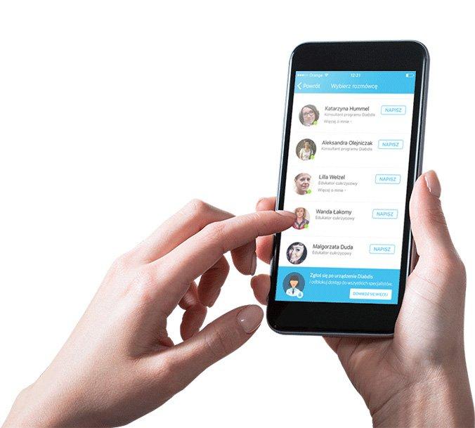 aplikacja mobilna diabdis