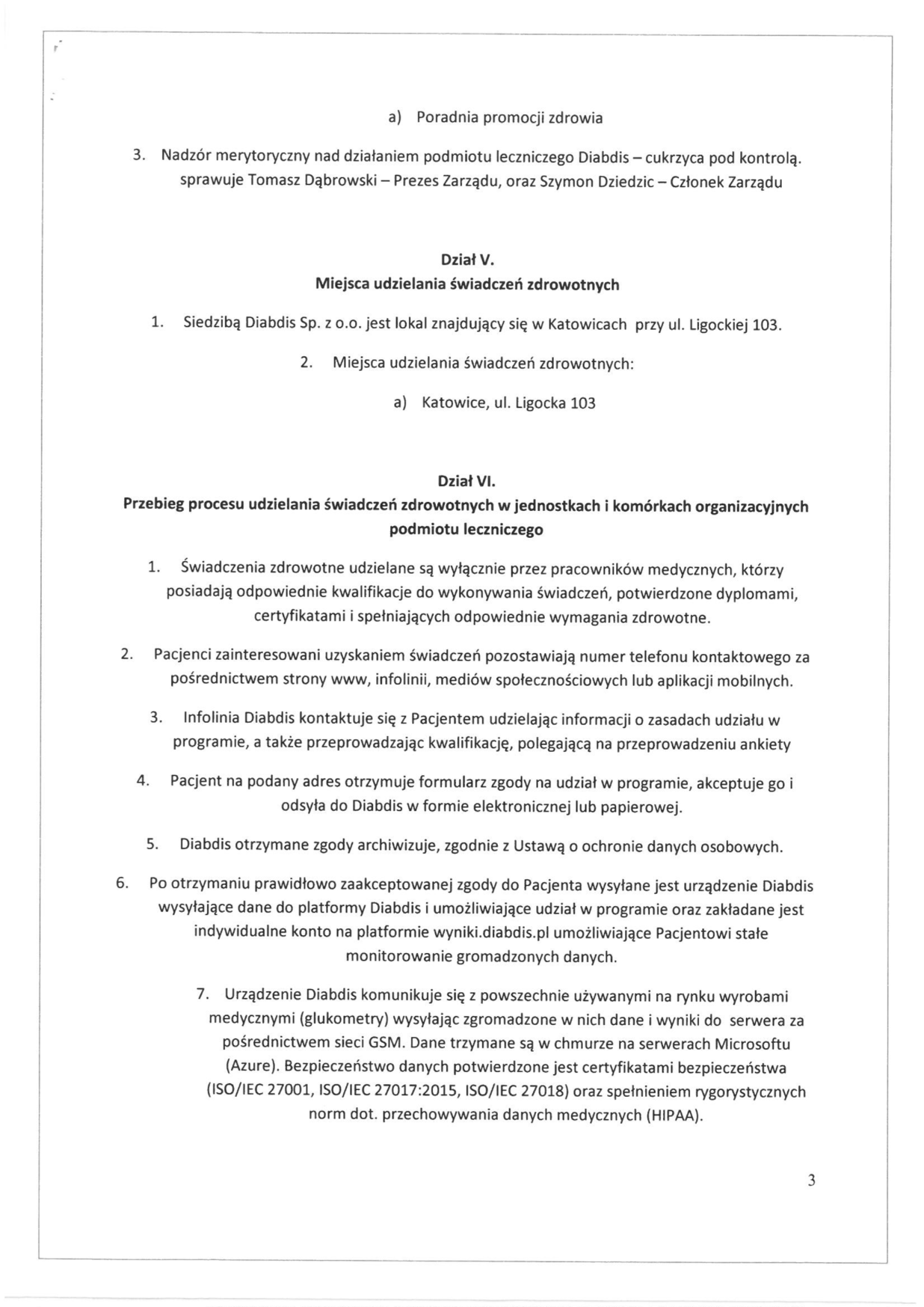 Regulamin organizacyjny, strona 3