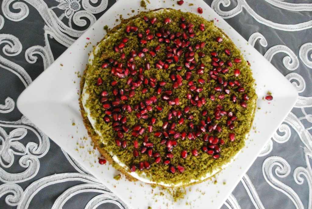ciasto dla cukrzyków - leśny mech