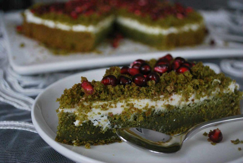 kawałek ciasta dla cukrzyka - leśny mech