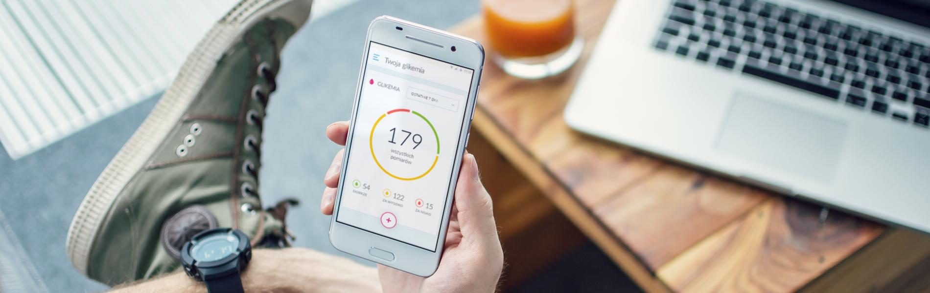 aplikacja dla cukrzyków