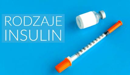 rodzaje insulin